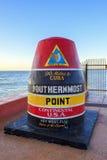 Florida Buoy sign Stock Photos