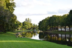 Florida Canal Royalty Free Stock Photos