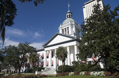 Florida capital building. Old florida capital building with new complex tower Stock Images