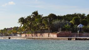 Florida chiude a chiave il video delle spiagge 4k stock footage
