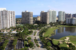 Florida City Skyline