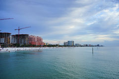 Florida clearwater beach Stock Photography