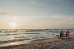 Florida, Clearwater-Sonnenuntergang stockbild