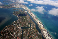 Florida coastline Royalty Free Stock Images