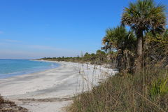 Florida coastline Royalty Free Stock Image