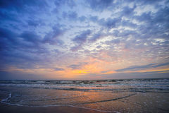 Florida cocoa beach sunset Royalty Free Stock Images