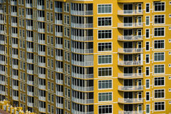 Florida Condo Building royalty free stock photos