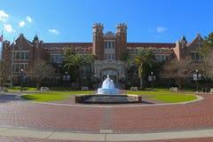 Florida delstatsuniversitetingång Fotografering för Bildbyråer