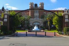 Florida delstatsuniversitetingång Arkivbilder