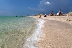 Florida do oceano Fotos de Stock Royalty Free