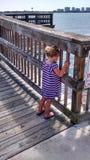 Florida dock Stock Image