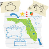 Florida Doodles Stock Photo