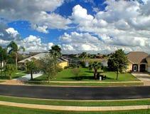 Florida Estate. A view of an estate in florida Stock Photos