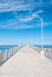 Florida Fishing Pier Stock Image