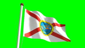 Florida flag Royalty Free Stock Image