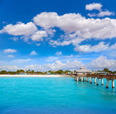 Florida Fort Myers Pier beach US Royalty Free Stock Photo
