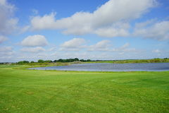Florida golf course and cloud Stock Photography