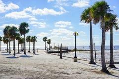 Florida hernando beach house Stock Images