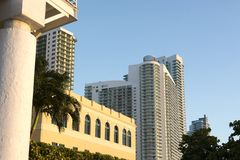 Florida highrise Royaltyfri Bild