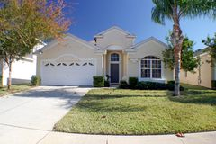 Florida Home. The Front Exterior of a Florida Home Stock Photography