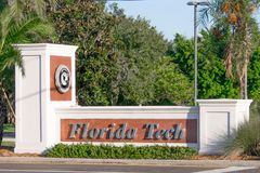 Florida Institute of Technology royalty free stock photo