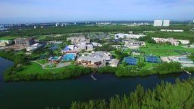 Florida International University stock video footage