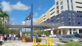 Florida International University Miami stock video footage