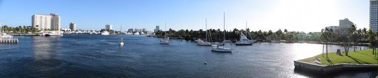 Florida-Jachthafen Stockfoto