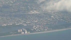 Florida-Küstenlinienvogelperspektive Lizenzfreie Stockfotografie