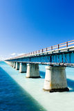 Florida Keys. Road bridge connecting Florida Keys, Florida, USA royalty free stock image