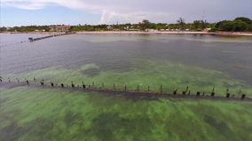 Florida Keys aerial drone dji phantom Stock Image