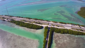 Florida Keys Aerial video stock video