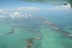 Florida Keys by air Royalty Free Stock Photography