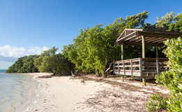Florida Keys Anne's Beach Royalty Free Stock Photo