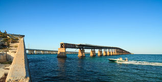 Florida Keys Bahia Honda Bridge Royalty Free Stock Image