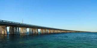 Florida Keys Bahia Honda Bridge Royalty Free Stock Photo