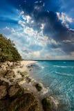 Florida Keys beach Bahia Honda Park US Stock Images