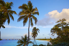 Florida Keys beach Bahia Honda Park US Royalty Free Stock Images