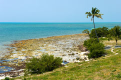 Florida Keys beach Stock Images