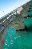 Florida Keys bridge Royalty Free Stock Photo