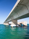 Florida Keys bridge and heritage trail Stock Image