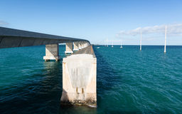 Florida Keys bridge and heritage trail Royalty Free Stock Images