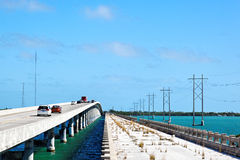 Florida Keys Bridges Royalty Free Stock Photos