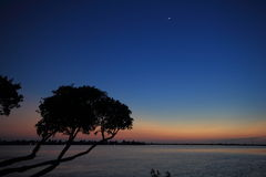Florida Keys Dusk Royalty Free Stock Images