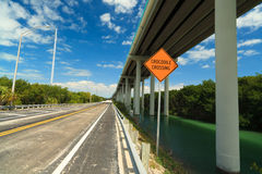 Florida Keys Highway Stock Photography