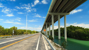 Florida Keys Highway Stock Image