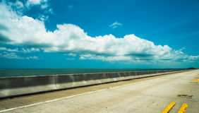 Florida Keys Highway Royalty Free Stock Photos