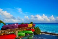Florida Keys kayaks Bahia Honda Park US Stock Images