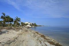 Florida Keys Overseas Heritage Trail after Hurricane Irma Royalty Free Stock Image