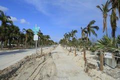Florida Keys Overseas Heritage Trail after Hurricane Irma Stock Photo